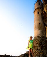Elf and Tower 2 by BertLePhoto