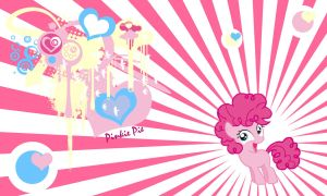Pinkie Pie Happy Filly Wall by Evilarticfox