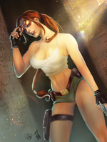 What do we have here? - 20 Years of Tomb Raider by Forty-Fathoms