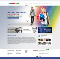 Ecole Tricolore by Webdesignerps
