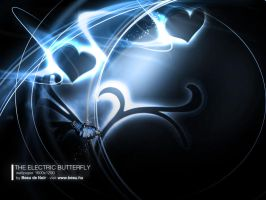 the Electric butterfly by BeauDeNoir