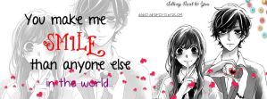 You Make Me Smile Than Anyone Else In The World by Ayano27