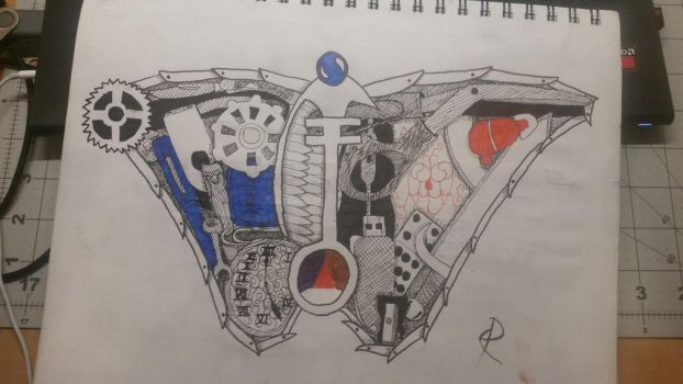 Mechanical Butterfly by OopsMyArtIsShowing