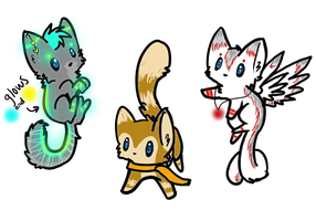Cat Adopts! Name your Price by Affy4