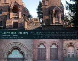Church Bad Homburg Stock Pack by kuschelirmel-stock