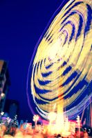Fairground Lights by Samuel-Benjamin