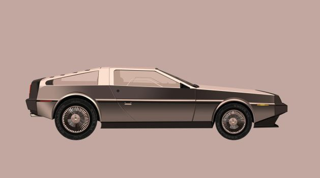 Delorean DMC-12 by khiunngiap
