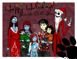 *~* Happy Holidays *~* by catt-gal-2006