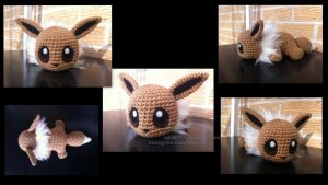 Baby Eevee (with pattern) by aphid777
