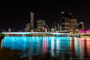 Brisbane Night by ARC-Photographic