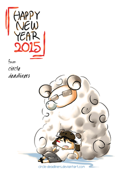 Happy New Year 2015 by circle-deadliners