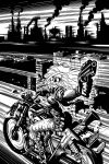 BARB WIRE cover by AdamWarren