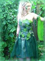 Wood Nymph costume - pic 2 by ThreeRingCinema