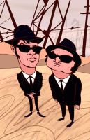 the blues brothers by gabrio76