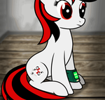 [FoE:PH] Filly BlackJack by Koshakevich