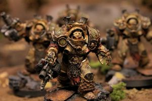 pre heresy death guard Grave Wardens by J00m4n