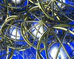 Caged Spheres by fractalyst