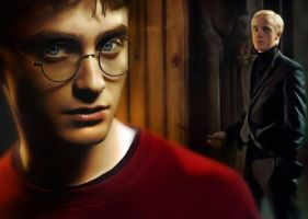 Harry Potter Painting by rick48180