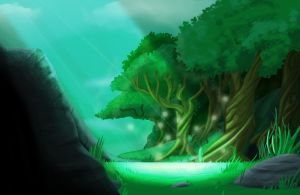 Animation background sample by riazkhan
