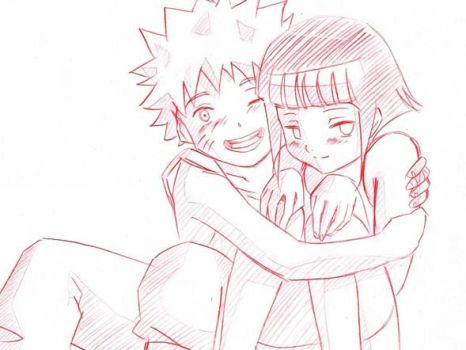 naruto and hinata by eekster