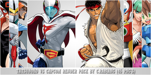 Pack de Tatsunoko vs Capcom by Rabling-Arts