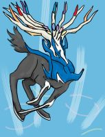 Xerneas by ShiningForceKaya