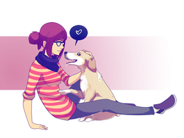 You Remind Me of Her by tabby-like-a-cat