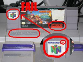 Super Nintendo 64 FAIL by Rennon-the-Shaved