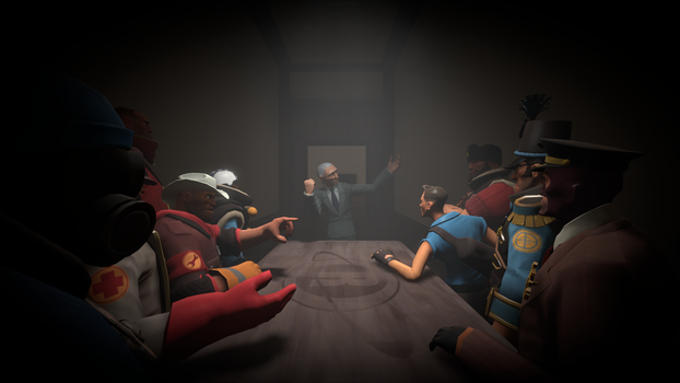 Them and the inventor [TF2 Ver] by GeneralRatchet