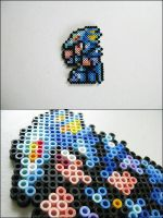 Final Fantasy 4 Kain bead sprite by 8bitcraft