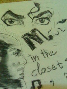 keep it in the closet MJ by AmeeraMJ