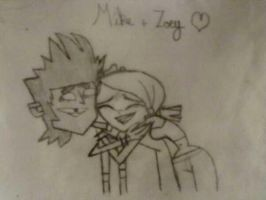 Mike and Zoey, 'Thanks Mike' Scene by Tiathegoodgirl
