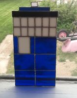 Stained Glass Tardis - Complete! by Onlera