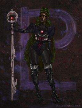 Odera Redesigns Sailor Pluto by Odyism