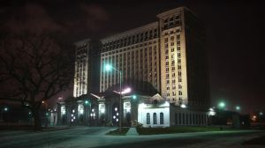 Detroit Train Station by RollingFishays