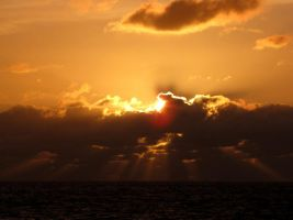 Disappearing Of Sun by Baltagalvis