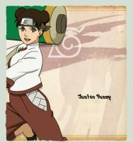 Tenten Mitsashi by juniorbunny