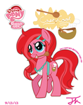 Arteses Mom, Casey Cook! (pony) by Arteses-Canvas