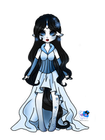 Grims Charming Snow White Pony by Chizeropa
