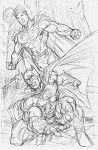 Wolrd's Finest rough pencils by gammaknight