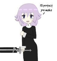Crona week- day 3 Brave by sillywall