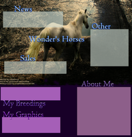 Wonder's Horses layout by 6-9Changeling