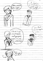 Drawing Conversation by bluetwi1n