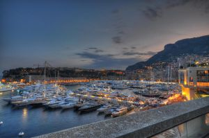 Monaco Port by leighd