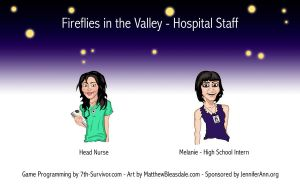 Game Art - Hospital Staff by Bleezer