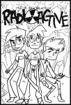 The Secret Trio : Radioactive Poster by PhintasticParu