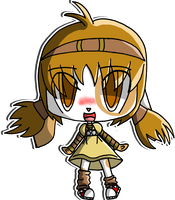 Little Chibi Alice Q by Crystal-Moore