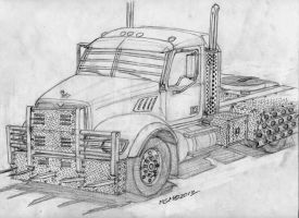 Post Apocalyptic Mack Granite by RedSpider2008