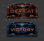 Defeat Victory watermarked by jekowekow