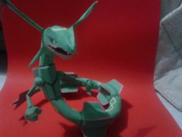 rayquaza papercraft :D by javierini